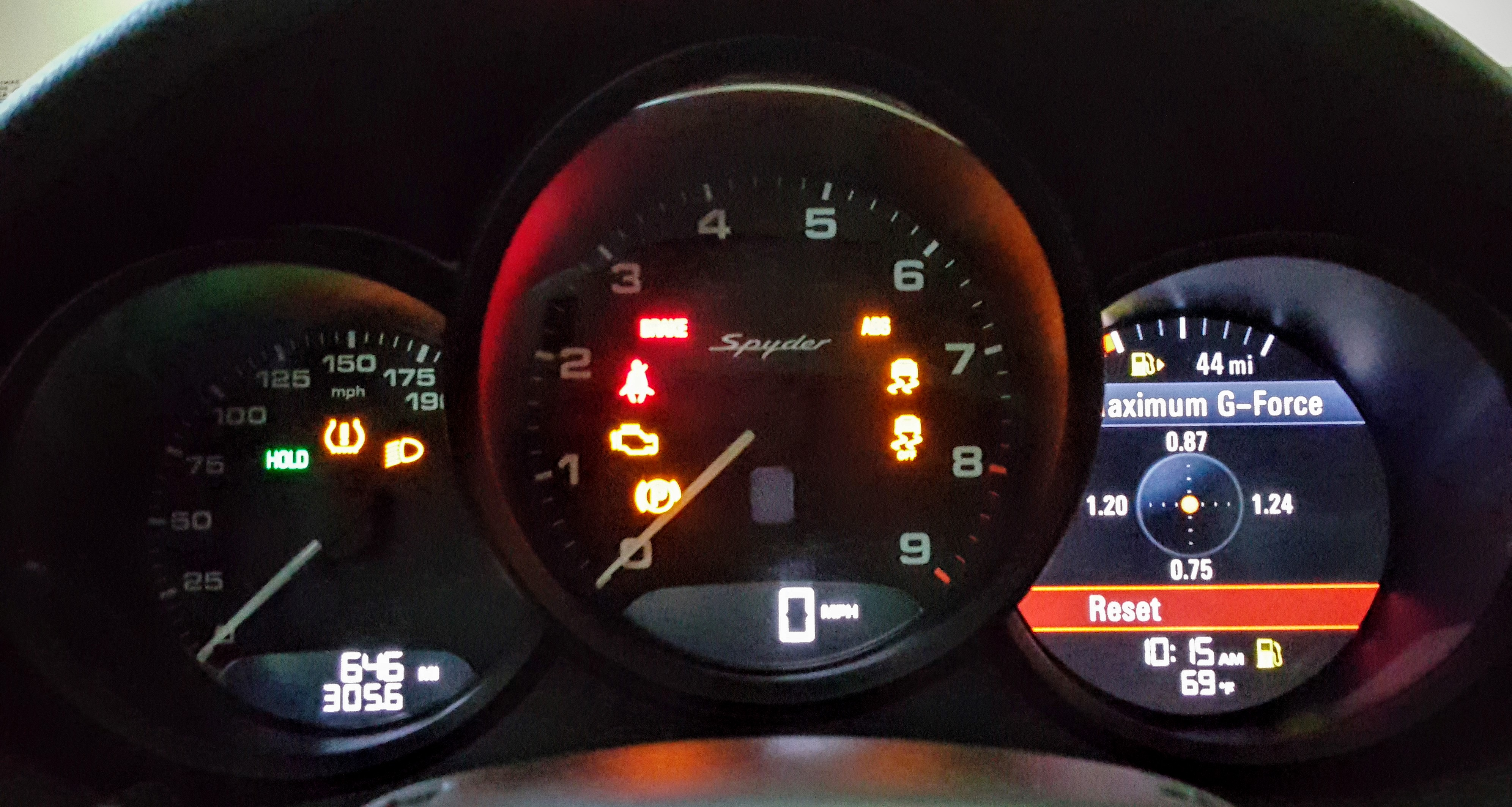 Cayman Gts G Force Meter Accuracy Page 2