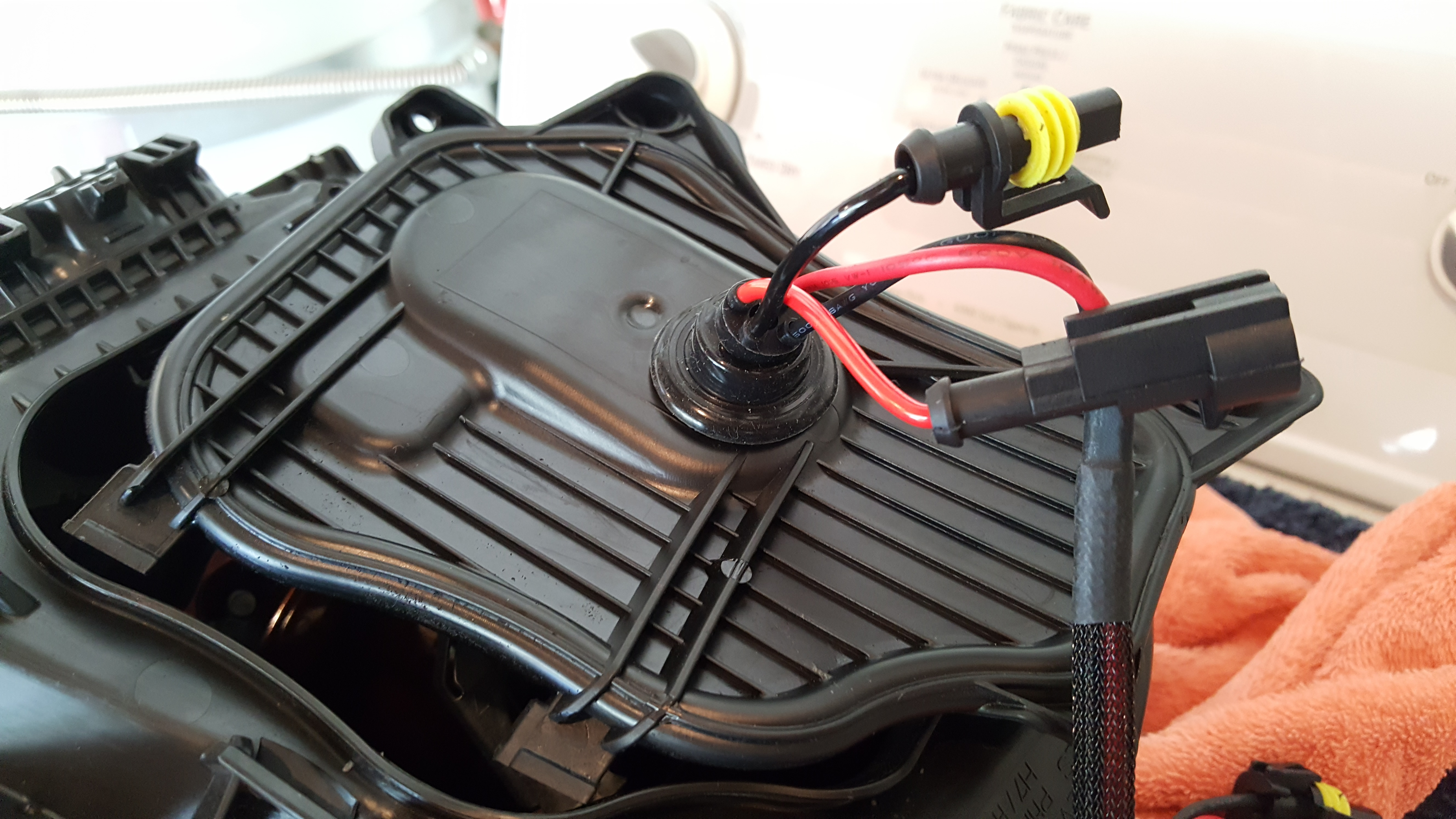 ... Installed HID Kit Today on Base  Boxster-20160807_102709_1470595276752-jpg ...