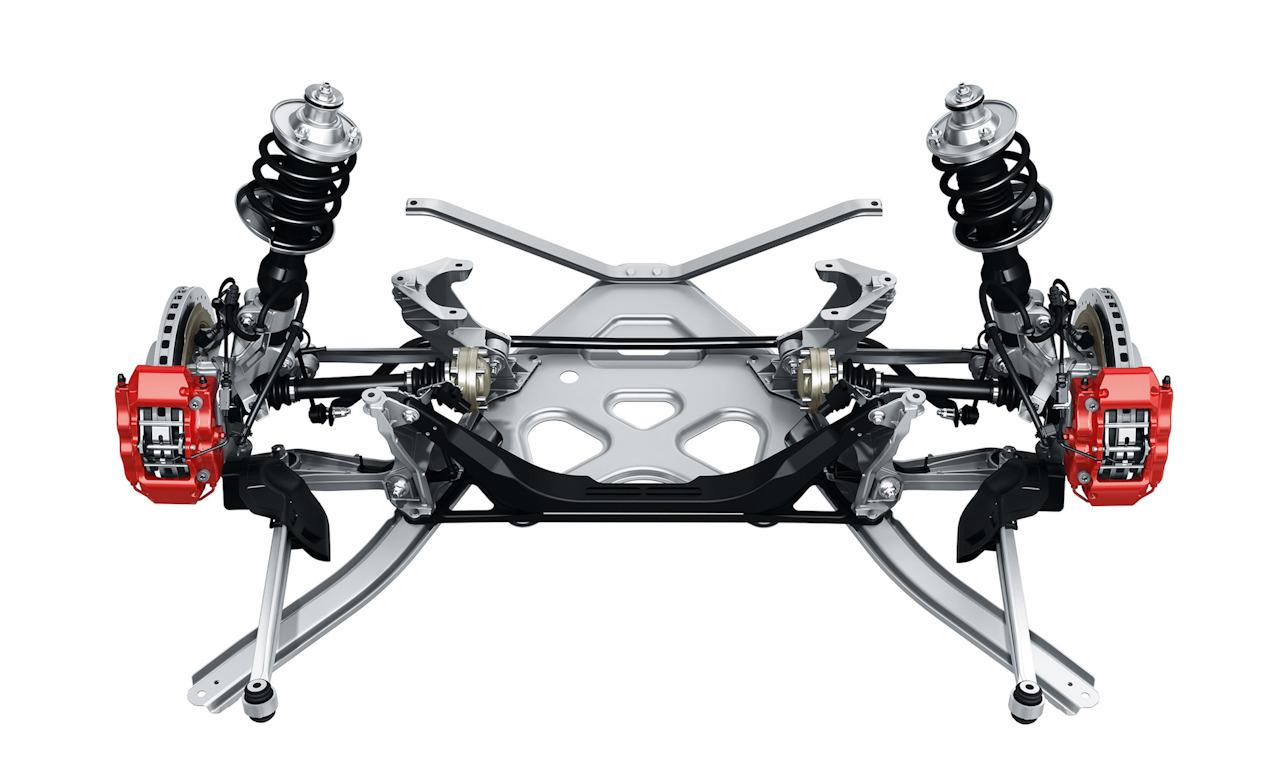 does the 981 have multi link rear suspension re does the 981 have multi link rear suspension