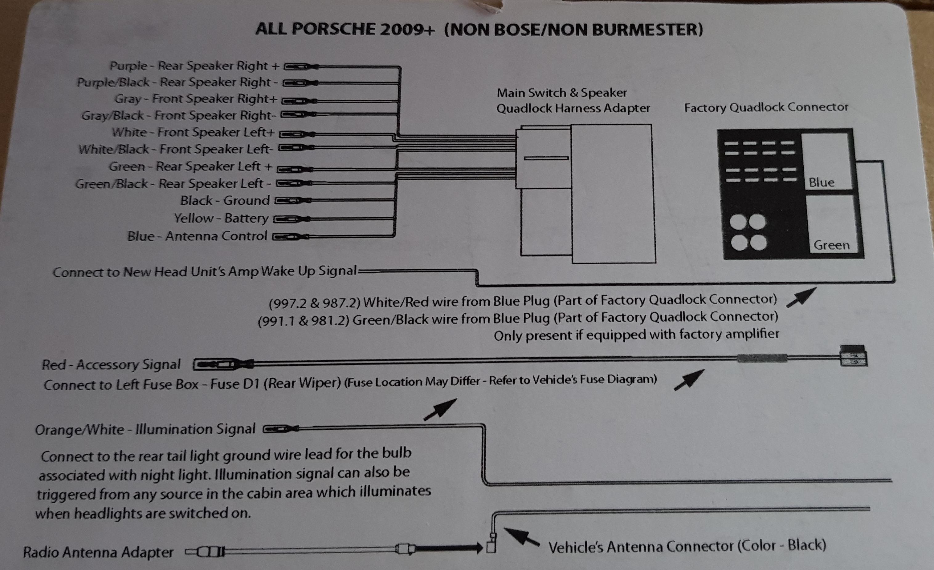 aftermarket radio install | Planet-9 Porsche ForumPlanet-9 Porsche Forum
