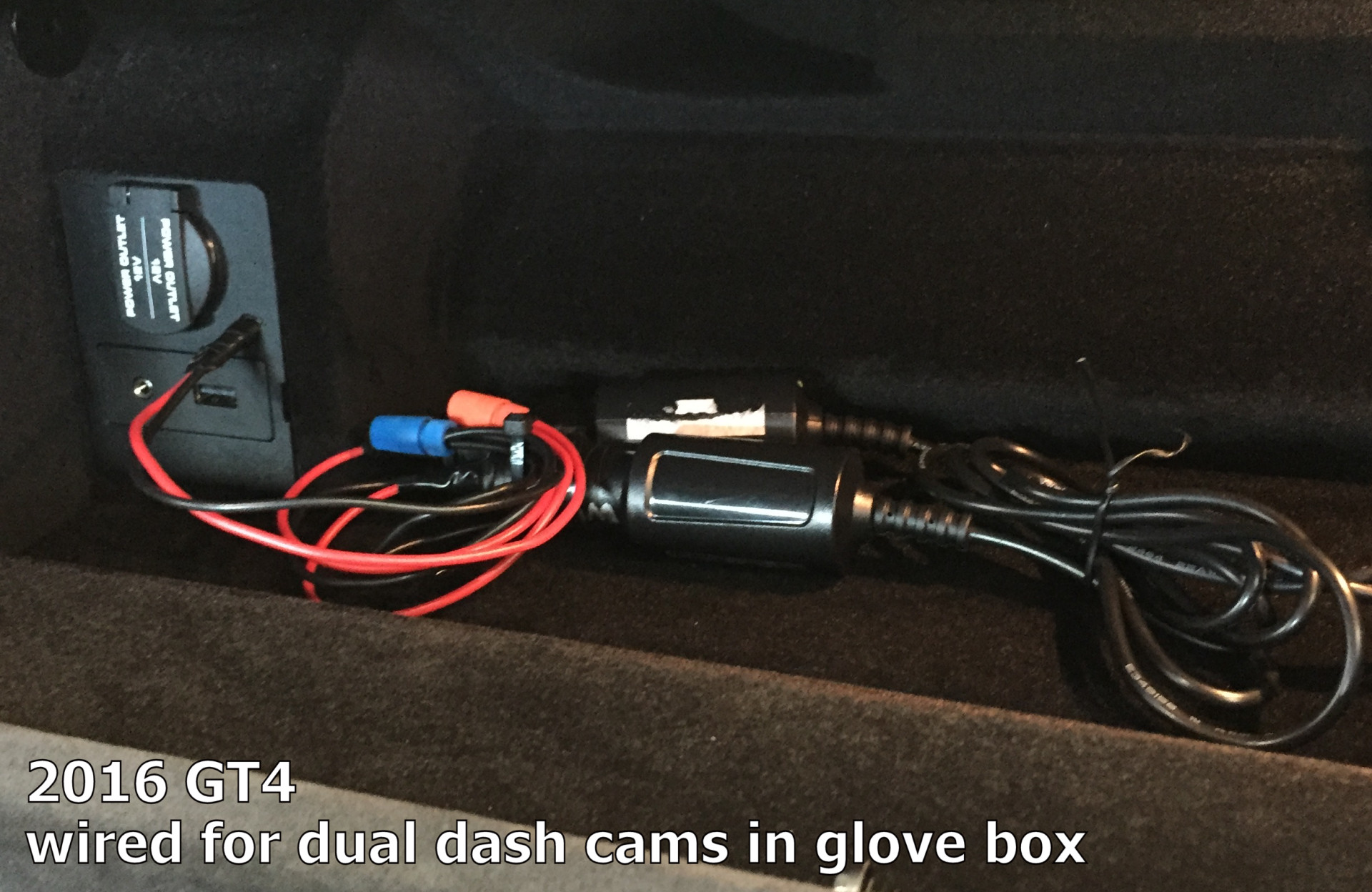 100657d1464527932 removing 12v panel passenger footwell glove box finished jpg removing 12v panel in passenger footwell 2017 A4 Black at panicattacktreatment.co