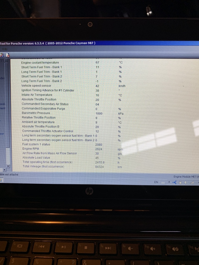 Cayman S 987 P0302 misfire cyl  2 with freeze frame data