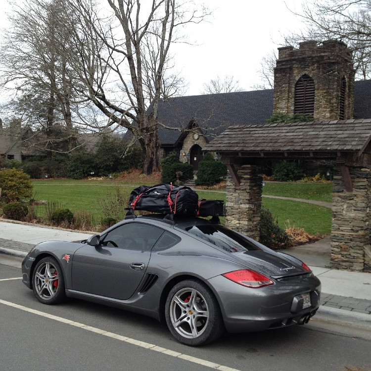 My Cayman With Roof Rack For Bikes And Surfboard Img_6094 Vi Jpg