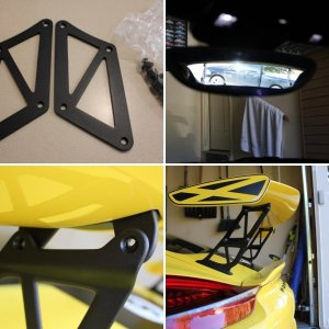 Fabspeed GT4 Wing Extensions