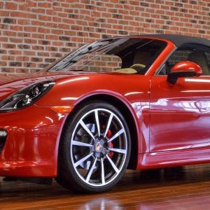 2013 Boxster S - Amaranth Red