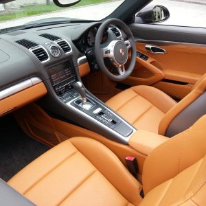 Agate Grey/amber Orange Interior