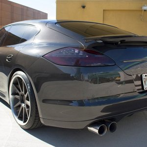 2010 Carbon Grey Panamera Turbo