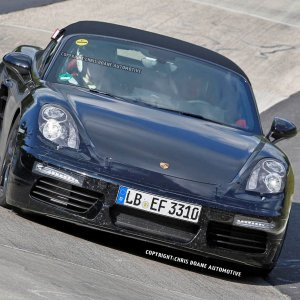 Boxster Turbo Spy Photos