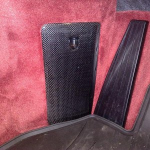 Carrera Red Carpet, Carbon Fiber Fusebox Cover