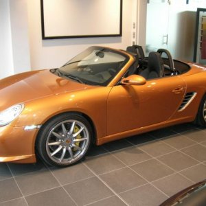 Just for fun...boxster S...very special