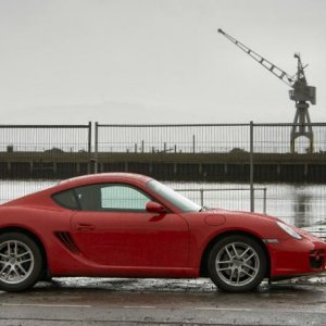 Cayman at Dundee docks