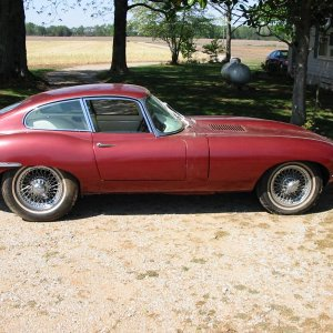 1964 Jaguar E-type Fhc