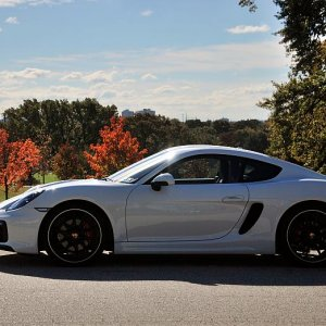 Midnight Blue's 2015 Porsche Cayman GTS