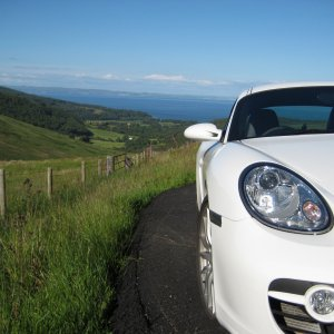 Cayman S On Arran