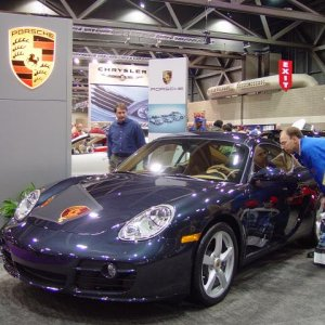 2007 Cayman S at the car show in KC