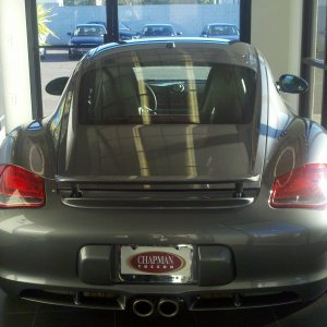 2011 Cayman S At Dealer