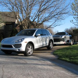 2011 Cayenne Tow Vehicle