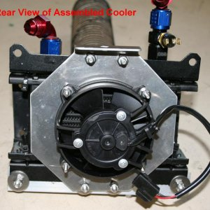 Rear View Assembled Cooler