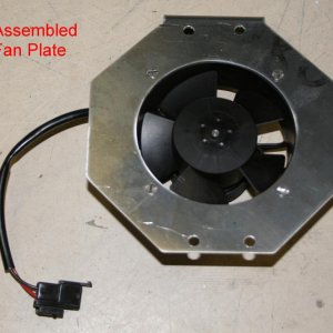 Front Of Fan Plate Assembled