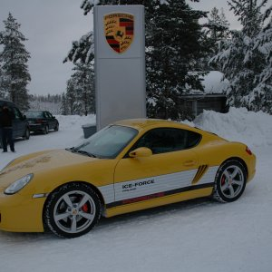Porsche Ice Force Finland 2008