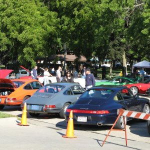 Cars N Coffee Concours 9/11