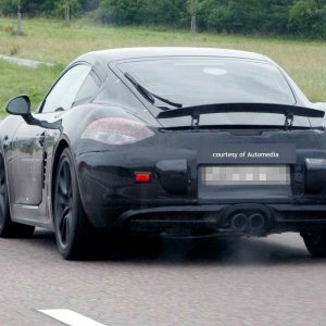 Gen 3 Cayman Spy Photos