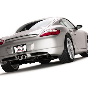 Borla Cayman S with Borla Exhaust