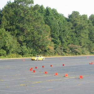 K-man During Sunday's Autocross