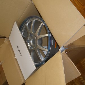 Rac Monolite Wheels At Delivery