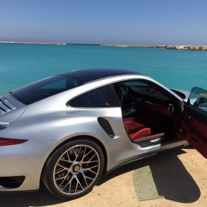 My 991 turbo @ Princesses Lakes