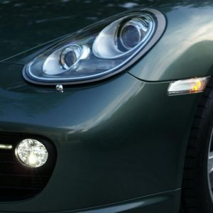 2009 Malachite Green - Clear Side Markers