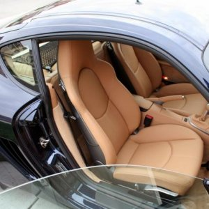 Sand Beige Full Leather Sport Seats