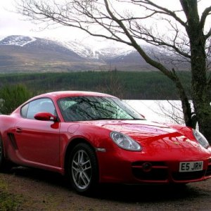 Cayman in the Cairngorms