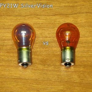 Philips Py21w Silvervision Vs Stock