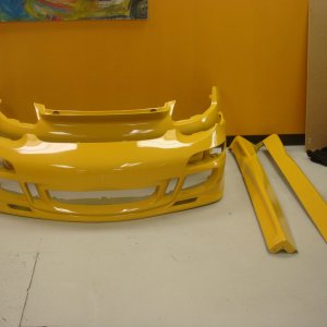 Ms Machine Works Body Kit Painted