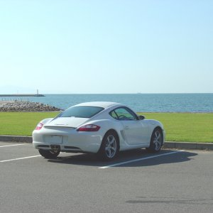My Cayman and the sea