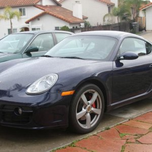 2007 Cayman S In Lapis Blue