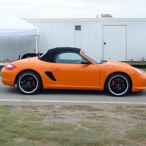 Orange Boxster S Le # 70