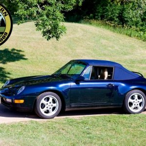 Midnight Blue 993 With Regional Club Logo Added