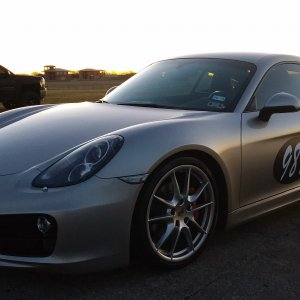 Cayman S at Dawn