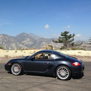 Cayman S - Angles Crest Hwy