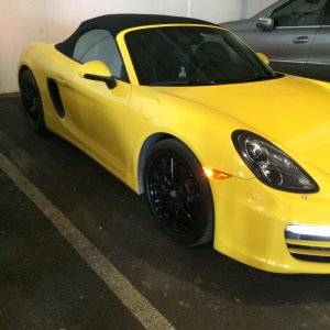 2014 BOXSTER 981