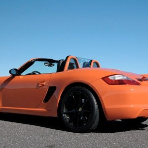 Ltd Edition Boxster Captree Feb 2009