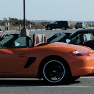 Ltd Edition Boxster plus friends Captree 2008