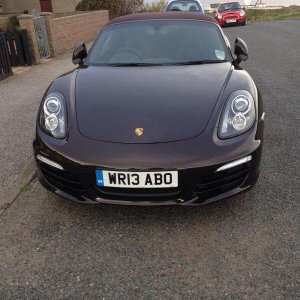 My New Boxster 2.7 Delivered Today