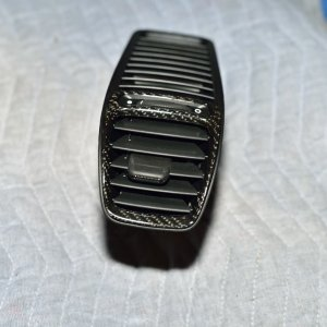 Carbon Fiber dash vent trim