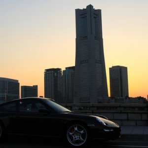 My New Carrera S (Tip s) at yokohama