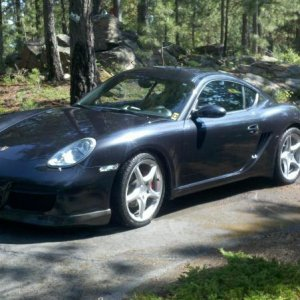 Cayman S With Joe's Spars