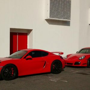 Cayman R and GT4